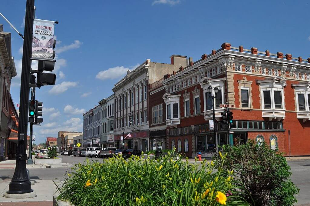 Downtown_Leavenworth,_Kansas